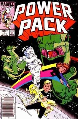 Power Pack (1984-1991; 2017) (Grapa) #2