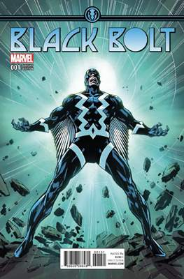 Black Bolt (Variant Covers) #1.1