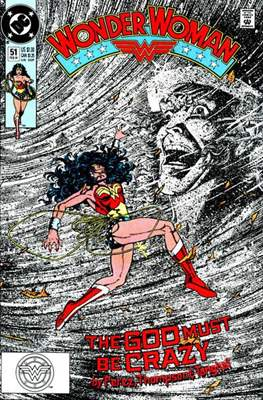 Wonder Woman Vol. 2 (1987-2006) (Comic Book) #51