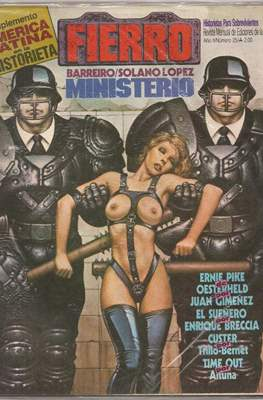 Fierro (Grapa (1984-1992) Primera época) #25