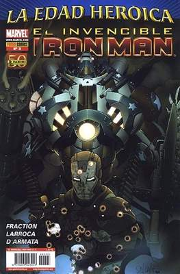 El Invencible Iron Man Vol. 2 (2011-) (Grapa - Rústica) #3