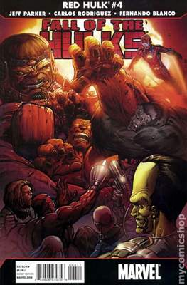 Fall of the Hulks Red Hulk (Comic Book 40-32 pp) #4