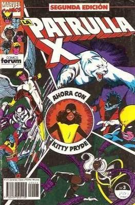 La Patrulla X Vol. 1. 2ª edición (1992-1995) (Grapa. 32 páginas.) #3