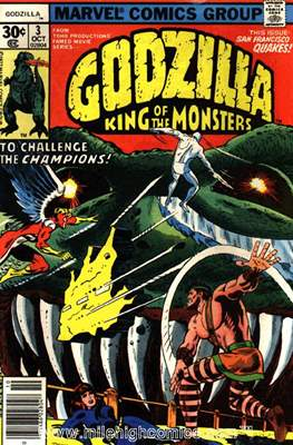 Godzilla King of the Monsters #3