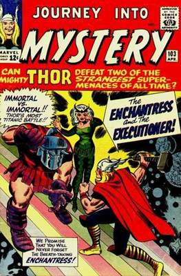 Journey into Mystery / Thor Vol 1 (Comic Book) #103
