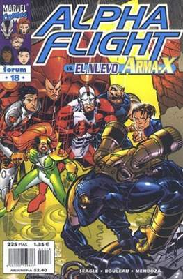 Alpha Flight Vol. 2 (1998-1999) (Grapa) #18