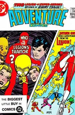 New Comics / New Adventure Comics / Adventure Comics (1935-1983; 2009-2011) (Saddle-Stitched) #499