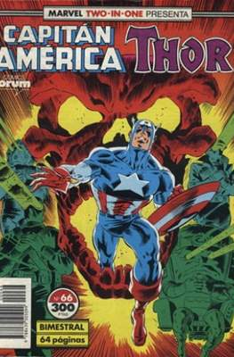 Capitán América Vol. 1 / Marvel Two-in-one: Capitán America & Thor Vol. 1 (1985-1992) #66