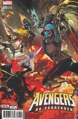The Avengers Vol. 7 (2016-...Variant Covers ) (Grapa) #678.2