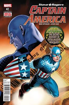 Captain America: Steve Rogers (Comic-book) #2