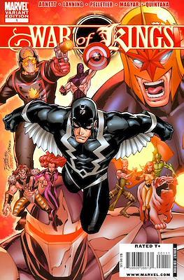 War of Kings Vol 1 (Comic Book) #1.1