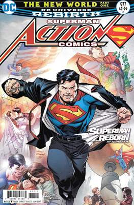 Action Comics Vol. 1 (1938-2011; 2016-) (Comic Book) #977