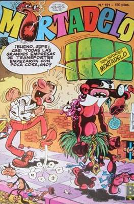 Mortadelo (1987-1991) (Grapa) #121