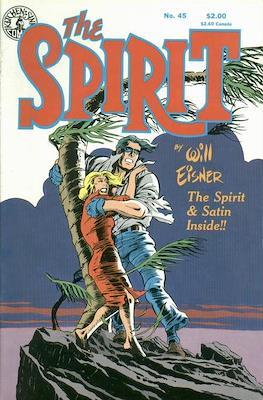 The Spirit (1983-1992) (Comic book. 32 pp) #45
