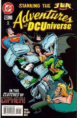 Adventures in the DC Universe (comic grapa usa) #12