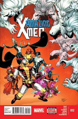 Amazing X-Men Vol. 2 (Comic Book) #12