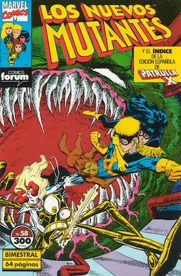 Los Nuevos Mutantes Vol. 1 (1986-1990) (Grapa 32-64 pp) #58