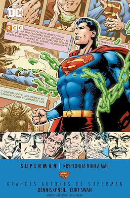 Grandes Autores de Superman: Dennis O'Neil y Curt Swan. Kryptonita nunca más