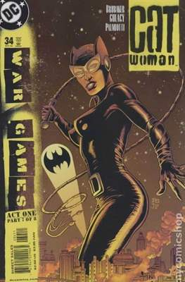 Catwoman Vol. 3 (2002-2008) (Comic Book) #34