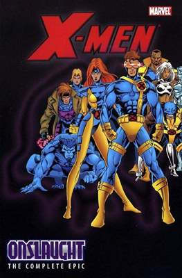X-Men: The Complete Onslaught Epic (Trade Paper Back) #4