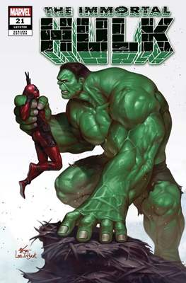 The Immortal Hulk (2018- Variant Cover) (Comic Book) #21