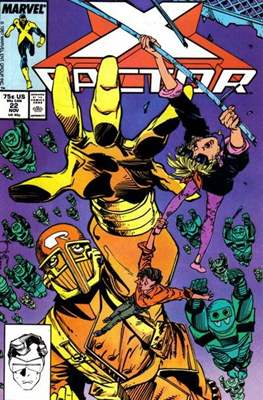 X-Factor Vol. 1 (1986-1998) (Comic Book) #22