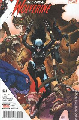 All-New Wolverine (2016-) (Comic book) #23