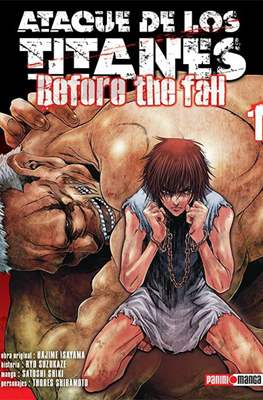 Ataque de los Titanes: Before the Fall #1