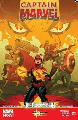 Captain Marvel Vol. 7 (2012-2014) (Comic-Book) #13