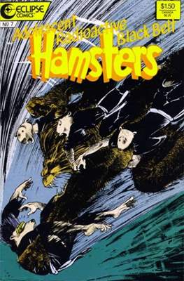 Adolescent Radioactive Black Belt Hamsters (1986-1988) #7