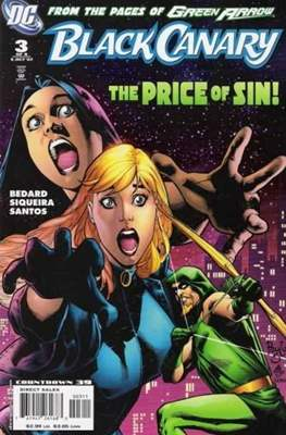 Black Canary (2007) (saddle-stitched) #3