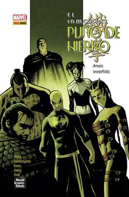 El Inmortal Puño de Hierro (2008-2011). Marvel Graphics Novels (Cartoné) #6