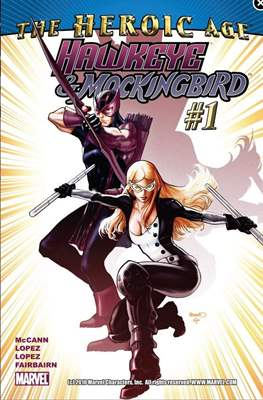 Hawkeye & Mockingbird (2010-2011) (Digital) #1