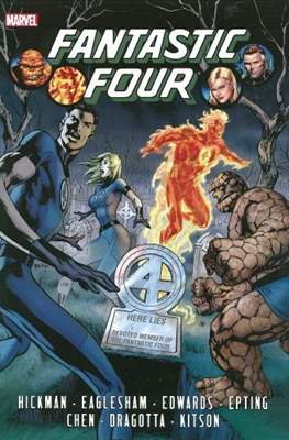 Fantastic Four by Jonathan Hickman (Hardcover 800-832 pp) #1