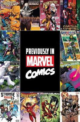 Previously in Marvel Comics