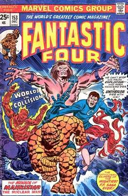 Fantastic Four Vol. 1 (1961-1996) (saddle-stitched) #153