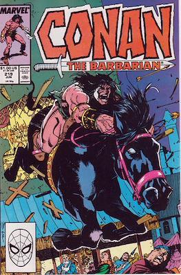 Conan The Barbarian (1970-1993) (Comic Book 32 pp) #219