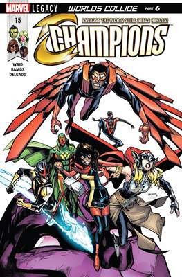 Champions Vol. 2 (Comic Book) #15