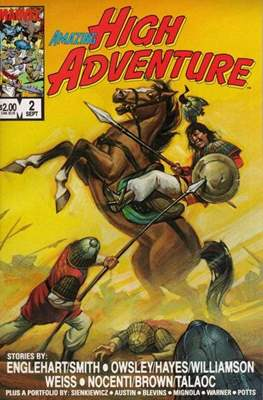 Amazing High Adventure (1984-1986) (Comic book 48 pp) #2