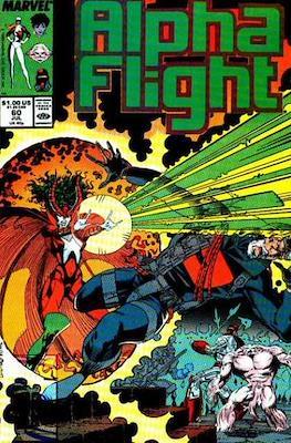 Alpha Flight Vol. 1 (1983-1994) (Comic Book) #60