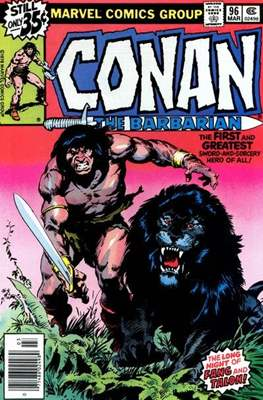 Conan The Barbarian (1970-1993) (Comic Book 32 pp) #96