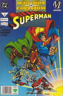 Superman: Mundos En Colision (Rústica) #3