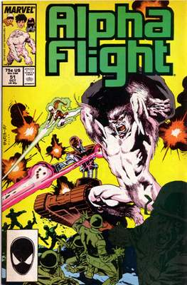 Alpha Flight Vol. 1 (1983-1994) #51