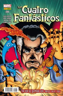 Los 4 Fantásticos / Los Cuatro Fantásticos Vol. 7 (2008-) (Grapa 24-48 pp) #98