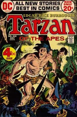 Tarzan (Comic-book) #210