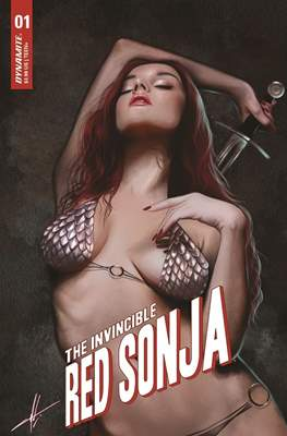 The Invincible Red Sonja (Variant Cover)