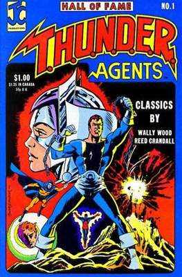 T.H.U.N.D.E.R. Agents - Hall of Fame (Comic Book) #1