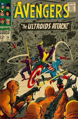 The Avengers Vol. 1 (1963-1996) (Grapa) #36