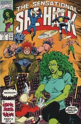 Sensational She-Hulk (1989-1994) (Grapa) #17