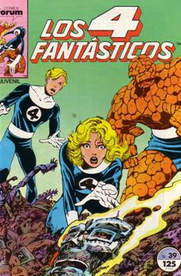Los 4 Fantásticos Vol. 1 (1983-1994) (Grapa 36-32-24 pp) #39
